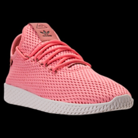 Adidas zapatos tenis zapatillas rosas poshmark BN Pharrell Hu